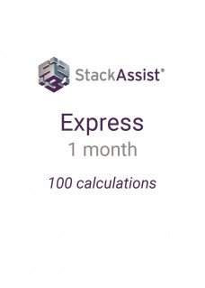 StackAssist Express - 1 Month 100 calculations