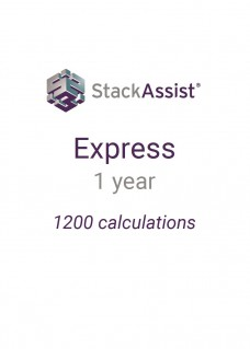 StackAssist Express - 1 Year 1200 calculations