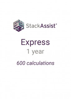 StackAssist Express - 1 Year 600 calculations